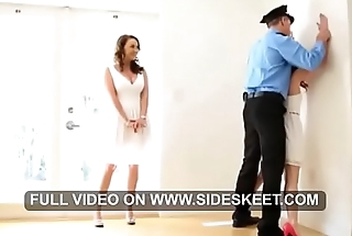 Stepmom &amp_ Stepdaughter threesome - Full video in HD on SideSkeet.com