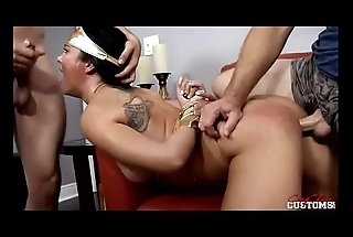 father and brother forced and fucked tied Brooke Benson in The Violation of Wunder Boobs Superheroine Adi Adip Porn.MP4