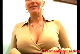 Hot German Blonde Slut - GermanPornCasting.com