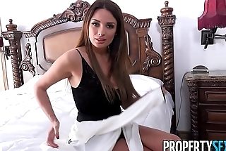 PropertySex - Hot French teacher fucks homeowner to get deal on house
