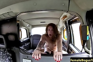 Smalltits cabbie screwed doggystyle