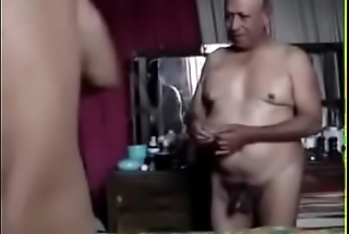 Old grandpa fuck his buddy