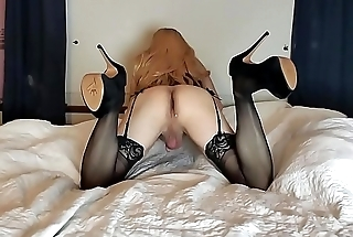 CROSSDRESSER My hole ready for some dick