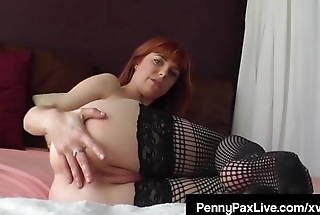 Ex Life Guard Penny Pax Bares Her Stocking Clad Feet &amp_ More!