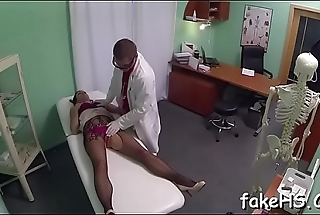 Hot doctor strips for sex