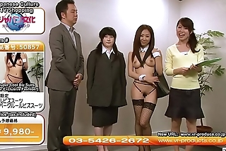 Weird JAV TV Shopping Channel Sexy Uniforms Subtitled