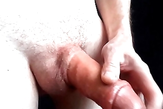 Pumping my cock strock and cumming