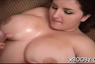 Big wobblers get involved in rough fucking