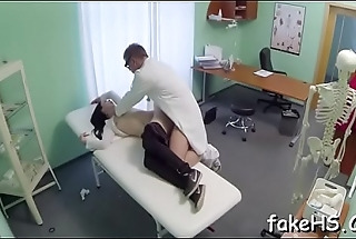 Thrilling therapy with a slutty doctor