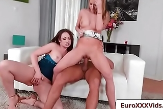 Euro Sex Party - Euro Sex Party - Pussy Out Cock In with Yasmin Scott and Angel Piaff and Kai Taylor clip-04
