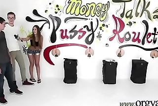 Sex On Camera For Some Money With Horny Girl (Kimmy Granger&amp_Kelly Greene) video-12