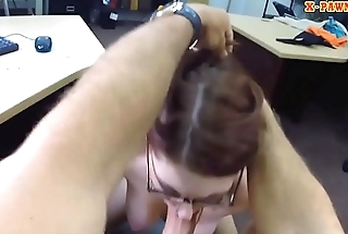 Tight babe pounded by nasty pawn keeper
