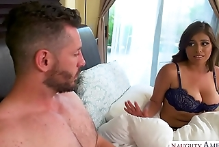 Ella Knox'_s knockers are huge and natural Naughty America!