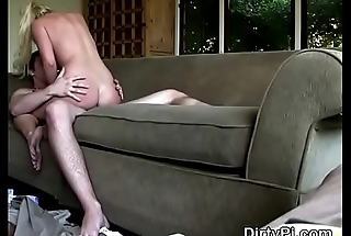 Blonde Cheating Housewife Courtney Taylor Riding On Hidden Camera