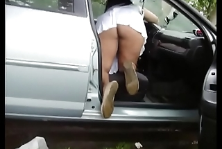 Mom upskirt no panties